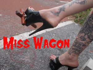 La Blasfemia di Miss Wagon Vegan