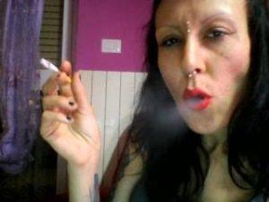 Smoking Fetish Miss Wagon Vegan Foot